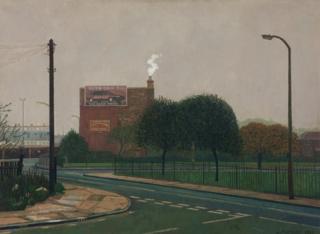 Painting of Bartlett Park by Doreen Fletcher