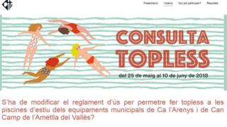Website for vote on topless bathing