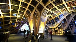 The France pavilion at Milan Expo (file pic May 2015)