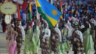 Ces athlètes sont originaires du Rwanda de la Sierra Leone et d'Ouganda.
