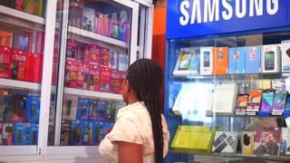 Ija market in Lagos