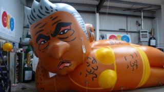 Sadiq Khan balloon