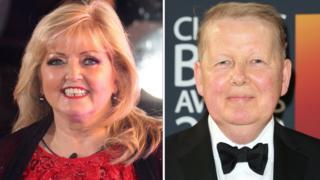 Linda Nolan and Bill Turnbull