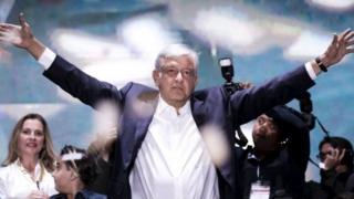 墨西哥新当选总统奥夫拉多尔