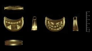 Shropshire Bronze Age gold pendant 'amazingly rare'