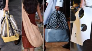 L-R: Bags by Philip Lim, Bottega Veneta , Stella McCartney and Off White