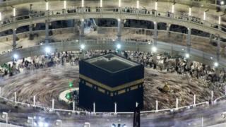 Pilgrims circumambulate the Kaaba during the Umrah (file photo)