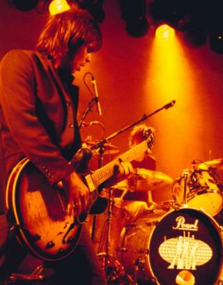 Supergrass performing at Rock City
