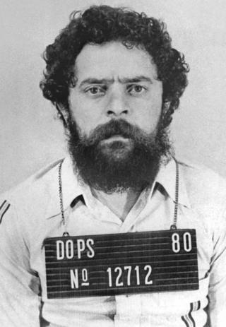 Imagen de archivo de cuando fue Lula preso en 1980
