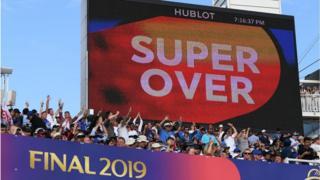 ఇంగ్లండ్, న్యూజిలాండ్ క్రికెట్ ప్రపంచకప్ 2019 ఫైనల్ మ్యాచ్ సూపర్ ఓవర్