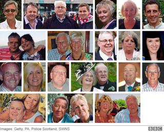 Composite image showing all the British victims of the Tunisia attack