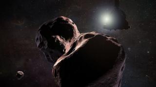 Астероид 2014 MU69