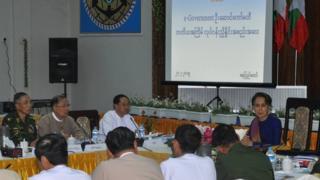 ပြီးခဲ့တဲ့ ဖေဖော်ဝါရီ ၂၇ ရက်က နေပြည်တော်မှာ ပြုလုပ်တဲ့ e Government အစည်းအဝေးတစ်ခု