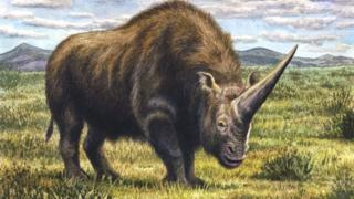 Artist's impression of the 'forgotten beast'
