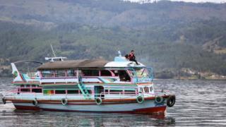 KM Sinar Bangun yang mengalami kecelakaan di Danau Toba mirip dengan kapal tradisional ini.