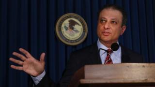 Manhattan US Attorney Preet Bharara