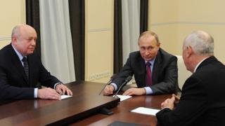 Чемезов, Путин и Фрадков