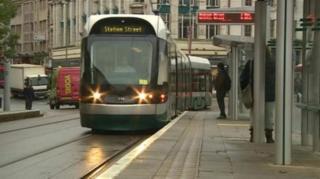 Nottingham tram losses annual report