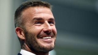 avid Beckham na timu yake mpya ya Marekani Inter Miami