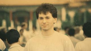 A young Tomasz Czechowicz