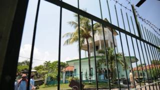 Kerobokan prison in Bali, Indonesia