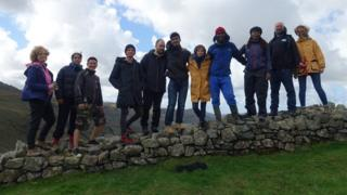The Mysteries cast in Eskdale
