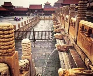 Floods at the Forbidden City
