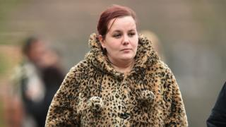 Caroline Starmer outside court on 3 December