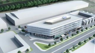An artist impression of the plans