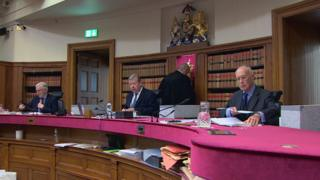 Appeal judges