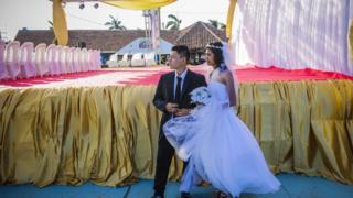 Bir evlilik töreni