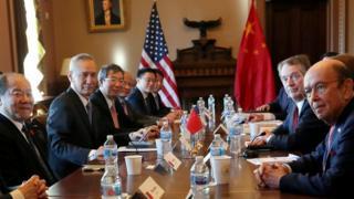 劉鶴率團在白宮與美方談判