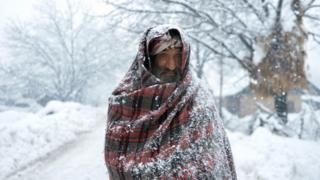 На Пакистан и Афганистан обрушились сильные снегопады