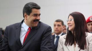 Nicolas Maduro and Cilia Flores, 14 October 2016