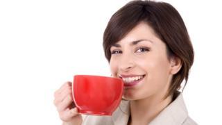 Во время перерыва с чашкой кофе