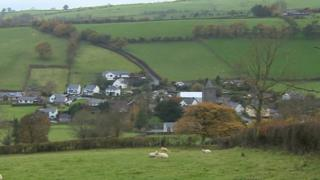 Llanfihangel y Creuddyn is one of two places in Wales to hold doubly thankful status