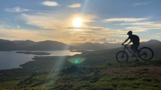 Summer solstice at Conic Hill. Sent in by Gillian McGaffin
