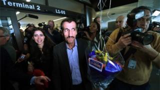 Recepção para iraniano nos EUA