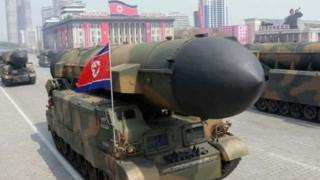 موشک کره شمالی
