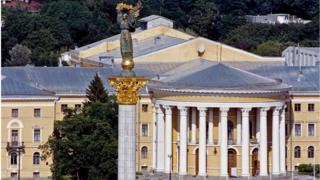 Жовтневий палац на Інститутській у Києві