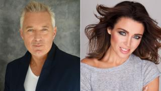 Martin Kemp and Danni Minogue