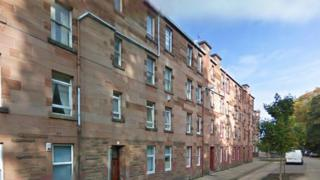 Flats in Robert Street, Port Glasgow