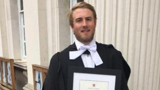 Dominic Hamlyn: Student died following underwater party trick