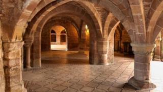 12th Century undercroft vault