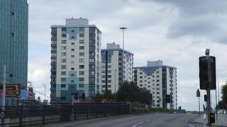 Tower blocks in Sheffield