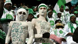 Super Eagles supporters