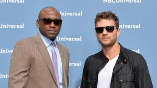 Ryan Phillippe and Omar Epps attend event publicising The Shooter