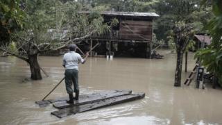 Последствия урагана в Коста-Рике