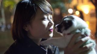 chó có trí thông minh hơn hẳn và có tình cảm hơn hẳn các loài