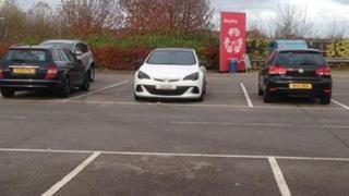 The original image of Mr Varley's parking